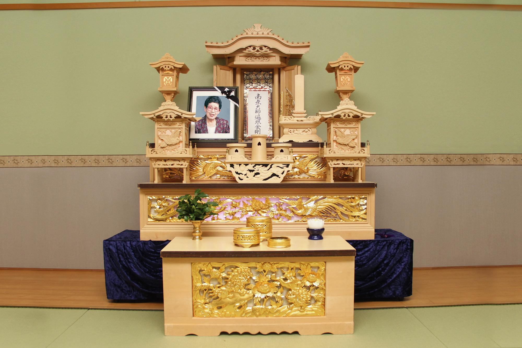40万円プラン 祭壇