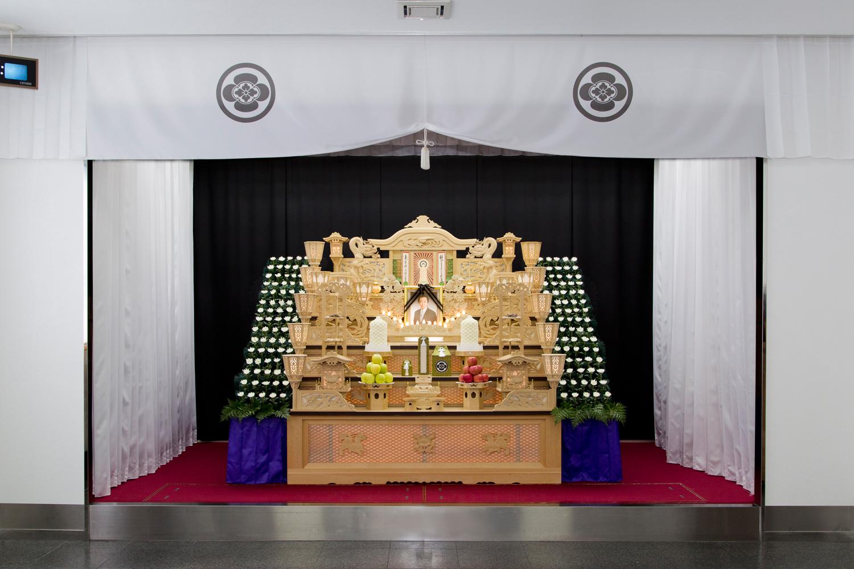 75万円プラン 祭壇